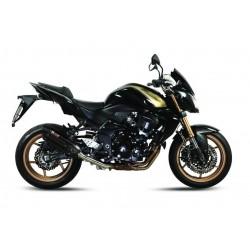 BLACK SOUND MIVV EXHAUST TERMINAL FOR KAWASAKI Z 750 R 2011/2012, APPROVED
