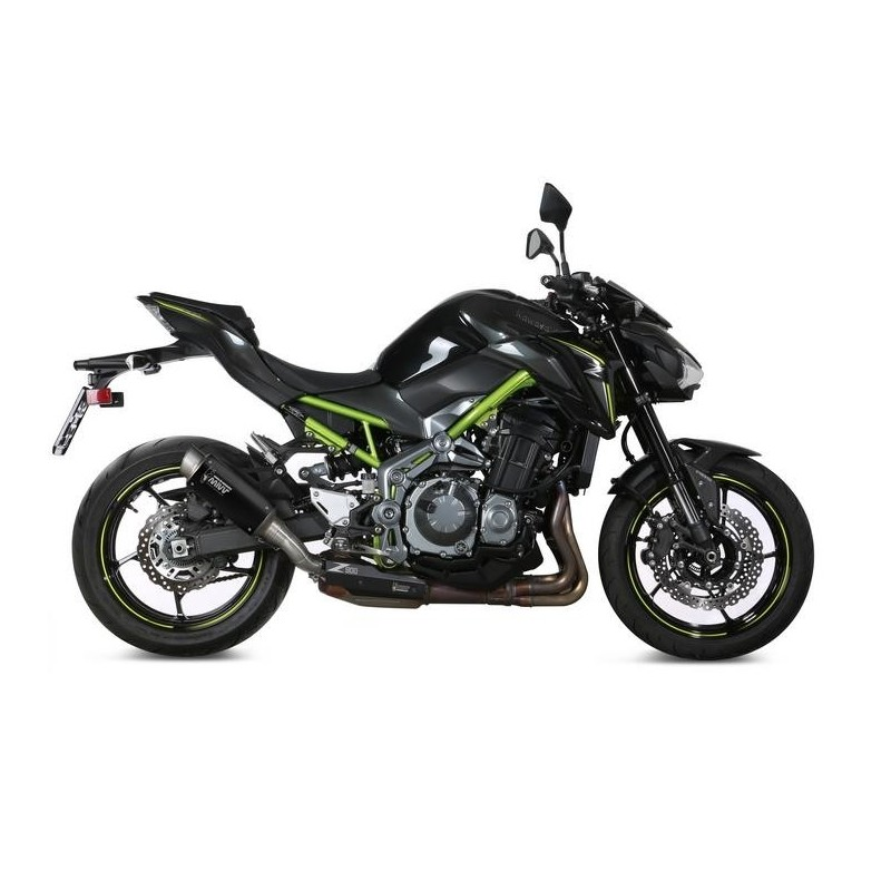 EXHAUST TERMINAL MIVV GP PRO BLACK FOR KAWASAKI Z 900 2017/2019, APPROVED