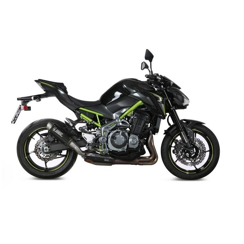 MIVV GP PRO EXHAUST TERMINAL IN CARBON FOR KAWASAKI Z 900 2017/2019, APPROVED