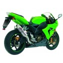 EXHAUST MIVV GP TITANIUM FOR KAWASAKI ZX-10R 2004/2005, APPROVED