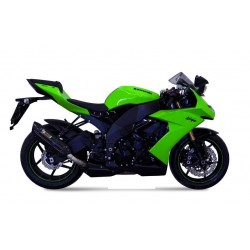BLACK SOUND MIVV EXHAUST TERMINAL FOR KAWASAKI ZX-10R 2008/2010, APPROVED