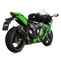 MIVV DELTA RACE BLACK EXHAUST TERMINAL FOR KAWASAKI ZX-10R 2016/2020, APPROVED