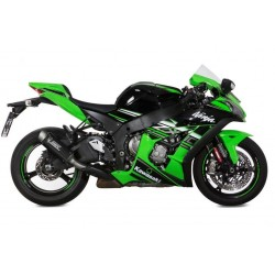 MIVV GP PRO EXHAUST TERMINAL IN CARBON FOR KAWASAKI ZX-10R 2016/2020, APPROVED