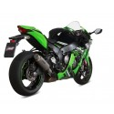 MIVV GP PRO EXHAUST SILENCER IN TITANIUM FOR KAWASAKI ZX-10R 2016/2020, APPROVED