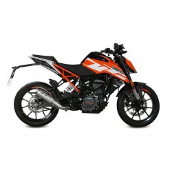 MIVV M2 EXHAUST TERMINAL IN STAINLESS STEEL FOR KTM DUKE 125 2017/2020, APPROVED