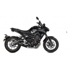 COMPLETE EXHAUST SYSTEM MIVV OVAL CARBON CARBON CUP FOR YAMAHA MT-09 2013/2020