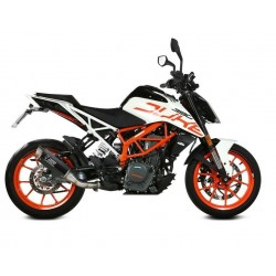 MIVV GP PRO EXHAUST TERMINAL IN CARBON FOR KTM 390 DUKE 2017/2020, APPROVED