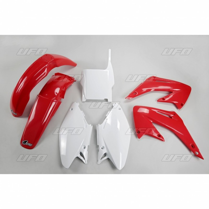 PLASTIC KITS UFO AS ORIGINAL FOR HONDA CR 125 R 2005/2007