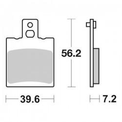SINTERED REAR BRAKE PADS SET SBS 824 HF FOR APRILIA RS 125 1998/2005