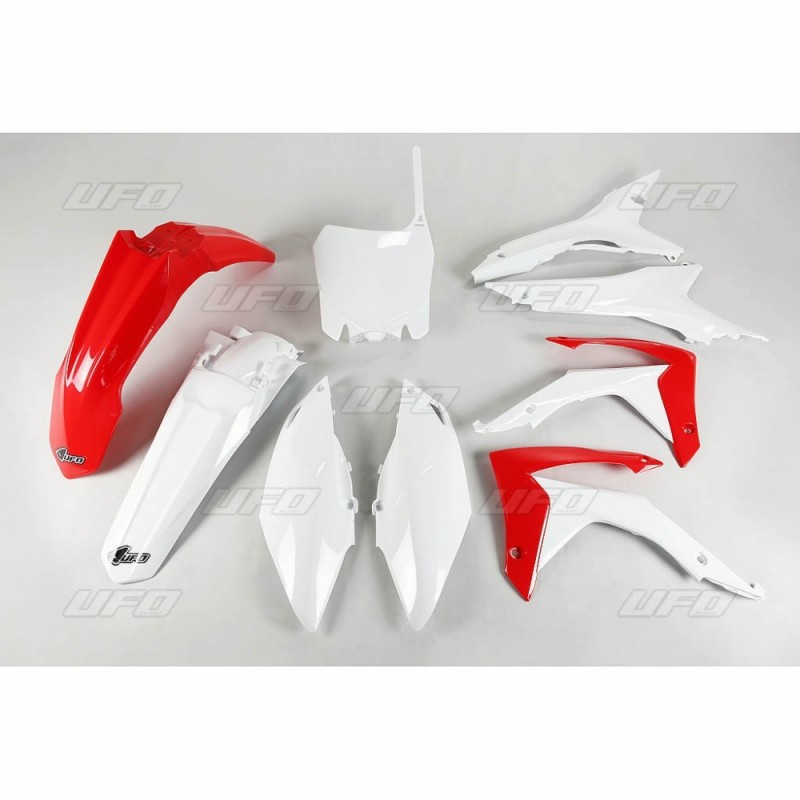 PLASTIC KITS UFO AS ORIGINAL WITH FILTER BOX COVER FOR HONDA CRF 450 R 2013/2016