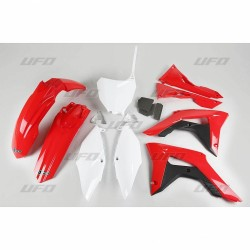 PLASTIC KITS UFO AS ORIGINAL WITH FILTER BOX COVER FOR HONDA CRF 450 R 2017/2018