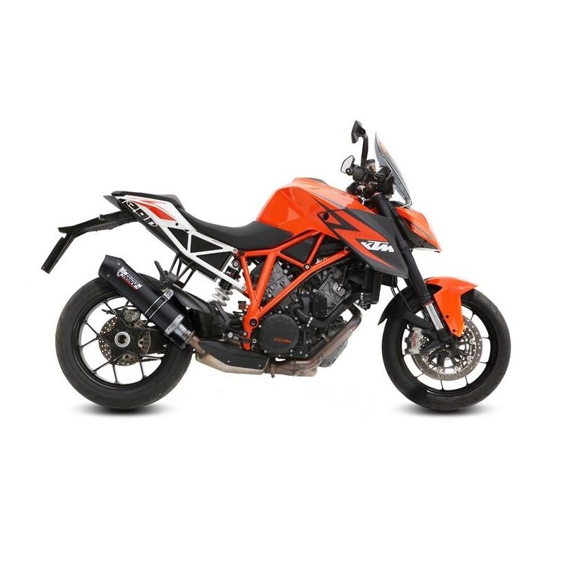 EXHAUST TERMINAL MIVV OVAL CARBON CARBON CUP FOR KTM 1290 SUPER DUKE R 2014/2019, APPROVED