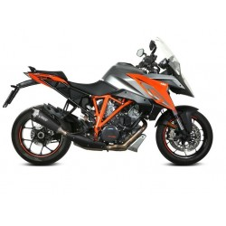 EXHAUST MIVV DELTA RACE BLACK FOR KTM 1290 SUPER DUKE GT 2016/2020, APPROVED