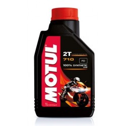 MOTUL 710 2T 100% SYNTHETIC LUBRICANT OIL FOR 2 STROKE ENGINES