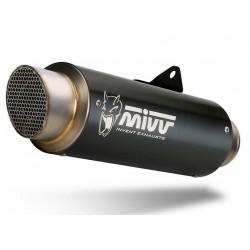 MIVV GP PRO BLACK EXHAUST TERMINAL FOR SUZUKI GSX-R 1000 2017/2020, APPROVED