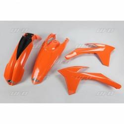 PLASTIC KITS UFO AS ORIGINAL FOR KTM EXC 2012/2013, EXC-F 2012/2013