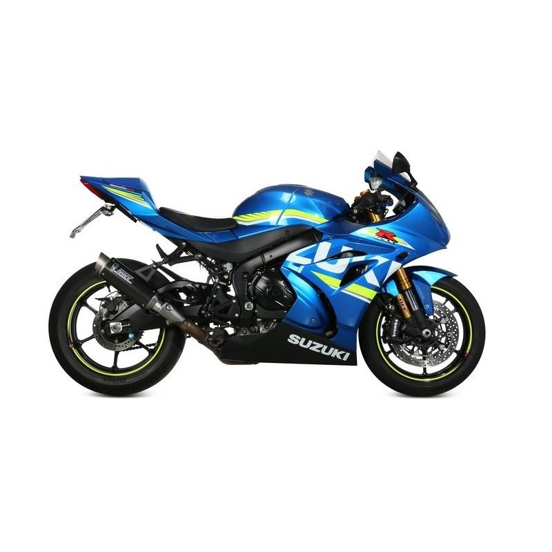 MIVV GP PRO EXHAUST TERMINAL IN CARBON FOR GSX-R 1000 R 2017/2020, APPROVED