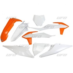 KIT PLASTICHE UFO COME ORIGINALI PER KTM SX/SX-F 2019 (NO CILINDRATE INFERIORI A CC 125)