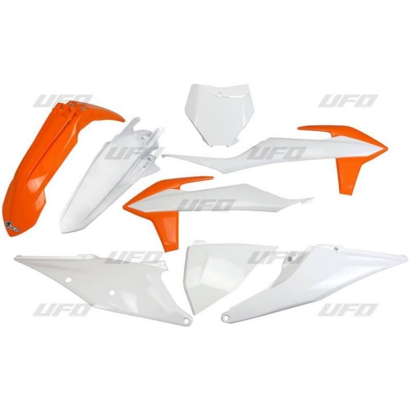 PLASTIC KITS UFO AS ORIGINAL FOR KTM SX/SX-F 2019 (NO DISPLACEMENT LOWER THAN CC 125)