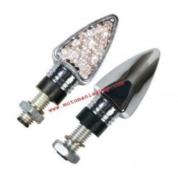 APPROVED LED ARROW DIRECTION INDICATOR PAIR, CHROME COLOR