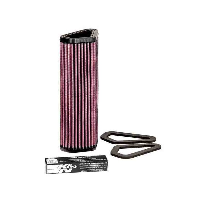 K&N DU-1007 AIR FILTER FOR DUCATI 1098 R 2008/2010