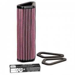 AIR FILTER K&N DU-1007 FOR DUCATI 1198 S 2009/2010