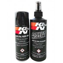CLEANING AND REGENERATION KIT FOR AIR K&N FILTERS
