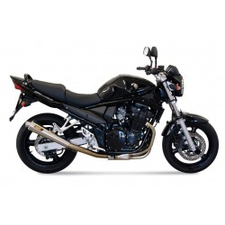 EXHAUST MIVV X-CONE STAINLESS STEEL FOR SUZUKI BANDIT 650/S 2007/2010, APPROVED