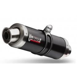 MIVV GP BLACK EXHAUST TERMINAL FOR SUZUKI GSX 650 F 2010/2013, APPROVED