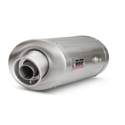 EXHAUST TERMINAL MIVV OVAL IN STAINLESS STEEL FOR TRIUMPH DAYTONA 675/R 2006/2011, APPROVED