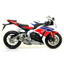 ARROW COMPLETE EXHAUST SYSTEM WITH INDY RACE ALUMINUM DARK TERMINAL FOR HONDA CBR 1000 RR 2012/2013