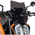 WINDSHIELD BARRACUDA AEROSPORT FOR KTM 790 DUKE 2018/2020, DARK SMOKE