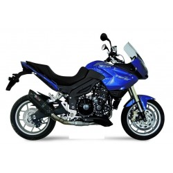 EXHAUST TERMINAL MIVV SOUND BLACK WITH LOW PASSAGE FOR TRIUMPH TIGER 1050 2007/2015, APPROVED