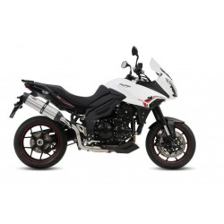 MIVV SOUND STAINLESS STEEL EXHAUST SYSTEM FOR TRIUMPH TIGER SPORT 1050 2013/2016*, APPROVED