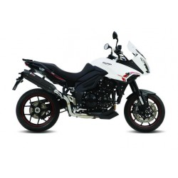 EXHAUST TERMINAL MIVV SUONO BLACK FOR TRIUMPH TIGER SPORT 1050 2013/2016*, APPROVED