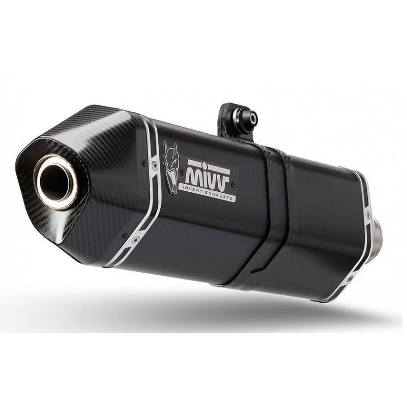 EXHAUST TERMINAL MIVV SPEED EDGE BLACK FOR TRIUMPH TIGER SPORT 1050 2013/2016*, APPROVED