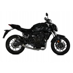 COMPLETE EXHAUST SYSTEM MIVV GP PRO IN HIGH CARBON FOR YAMAHA MT-07 2014/2019