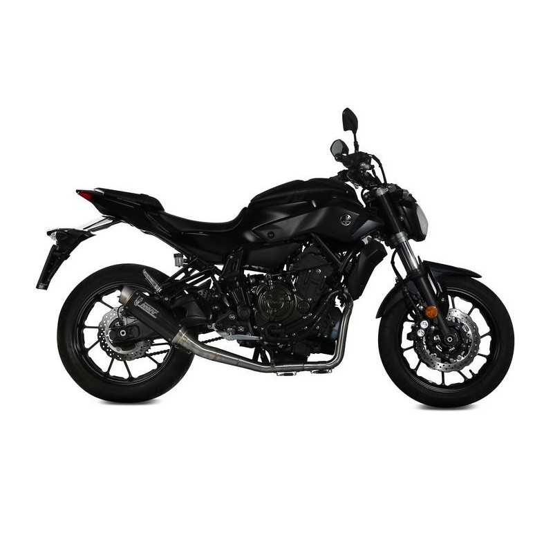 COMPLETE EXHAUST SYSTEM MIVV GP PRO IN HIGH CARBON FOR YAMAHA MT-07 2014/2020