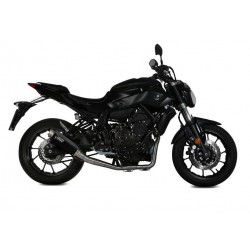 COMPLETE EXHAUST SYSTEM MIVV GP PRO BLACK HIGH FOR YAMAHA MT-07 2014/2020