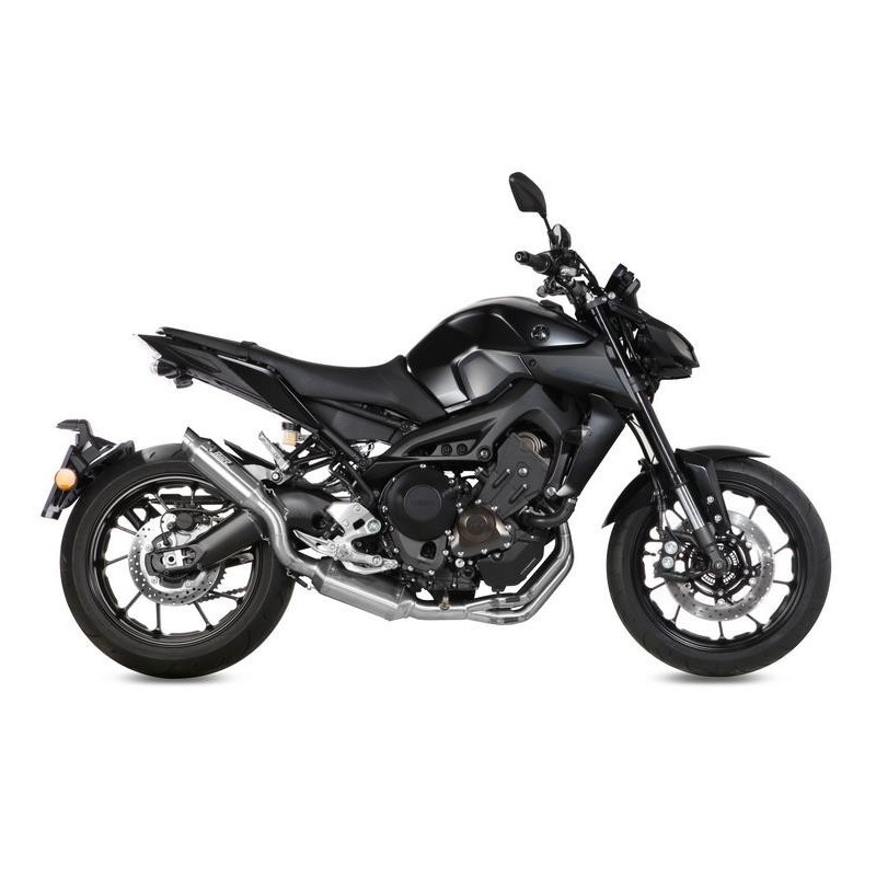 COMPLETE EXHAUST SYSTEM MIVV M2 IN STAINLESS STEEL FOR YAMAHA MT-09 2013/2020