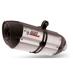 COMPLETE EXHAUST SYSTEM MIVV SOUND IN STAINLESS STEEL FOR YAMAHA T-MAX 2000/2007, APPROVED