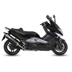 COMPLETE EXHAUST SYSTEM MIVV SPEED EDGE BLACK FOR YAMAHA T-MAX 2008/2011