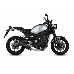 COMPLETE EXHAUST SYSTEM MIVV OVAL CARBON CARBON CUP FOR YAMAHA XSR 900 2016/2019, APPROVED