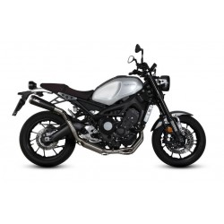 COMPLETE EXHAUST SYSTEM MIVV GHIBLI BLACK HIGH PASSAGE FOR YAMAHA XSR 900 2016/2020, APPROVED