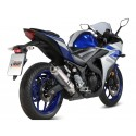 EXHAUST MIVV GP TITANIUM FOR YAMAHA YZF-R3 2015/2018, APPROVED