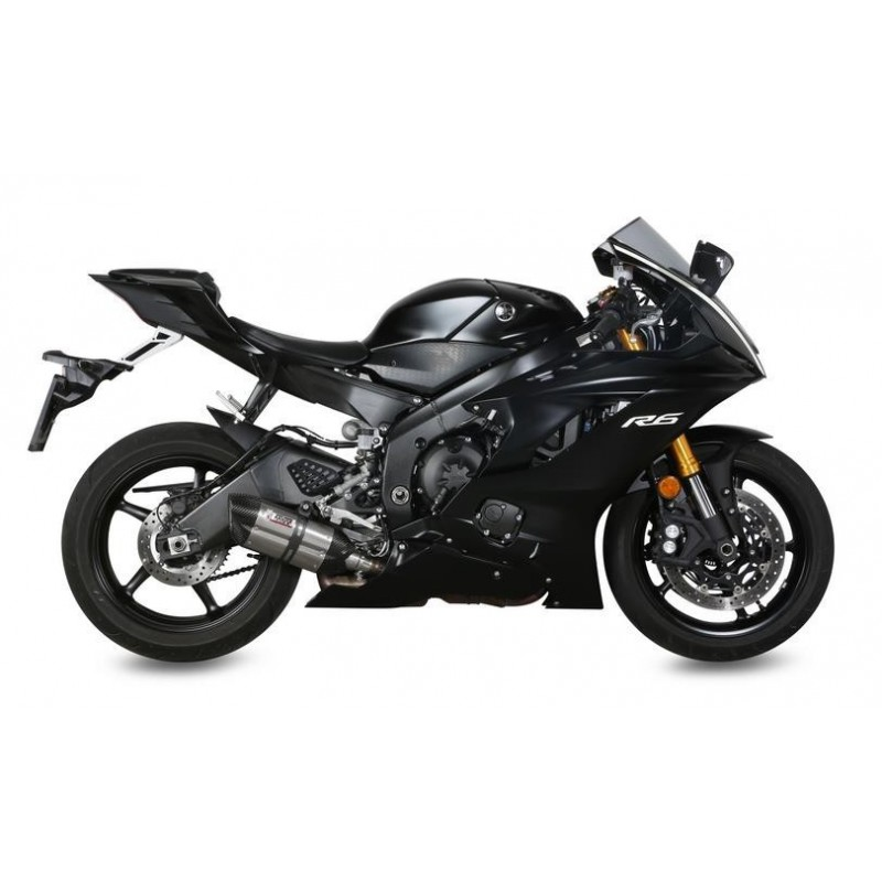MIVV SOUND STAINLESS STEEL EXHAUST SYSTEM FOR YAMAHA R6 2017/2019, APPROVED