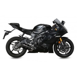 BLACK SOUND MIVV EXHAUST TERMINAL FOR YAMAHA R6 2017/2019, APPROVED