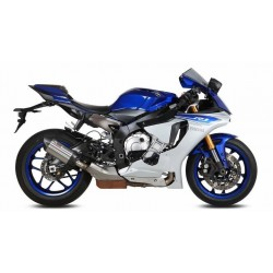 MIVV SOUND STAINLESS STEEL EXHAUST SYSTEM FOR YAMAHA R1 2015/2020, APPROVED