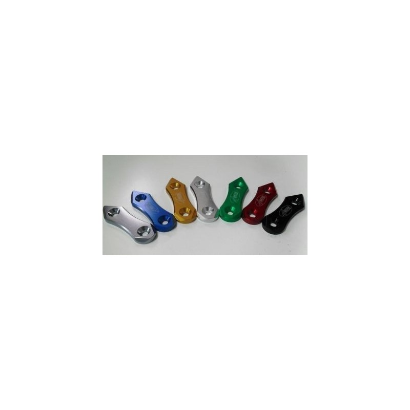 PAIR OF 4-RACING MIRROR HOLE CAPS FOR HONDA CBR 250 R 2011/2013