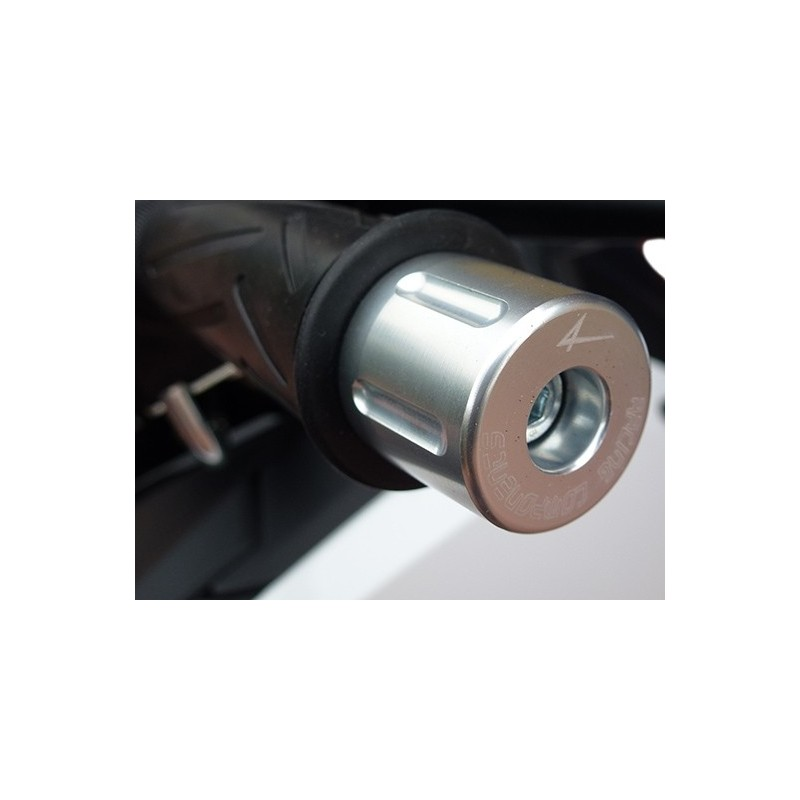 PAIR OF 4-RACING BASIC HANDLEBAR STABILIZERS FOR DUCATI 899 PANIGALE 2013/2015